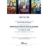 Bénédiction des nouveaux vitraux de l'église des Colimaçons