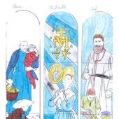 De La Réunion à l'Alsace... les vitraux parlent aux coeurs des plus petits