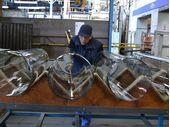 la fabrication du verre